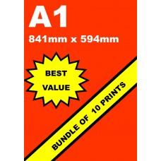 A1 Full Colour Poster - Value Bundle